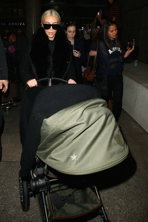 Photos : Kim Kardashian : elle arrive enfin à protéger North… ou pas !