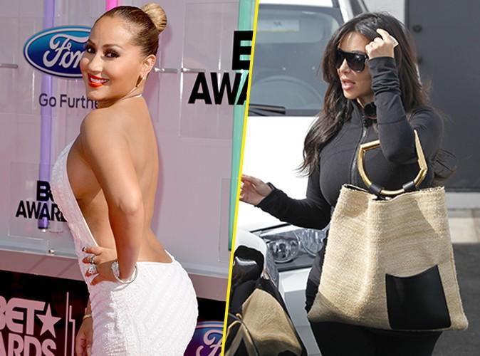 Photos : Kim Kardashian : elle clashe et remet à sa place Adrienne Bailon, l'ex de Rob !