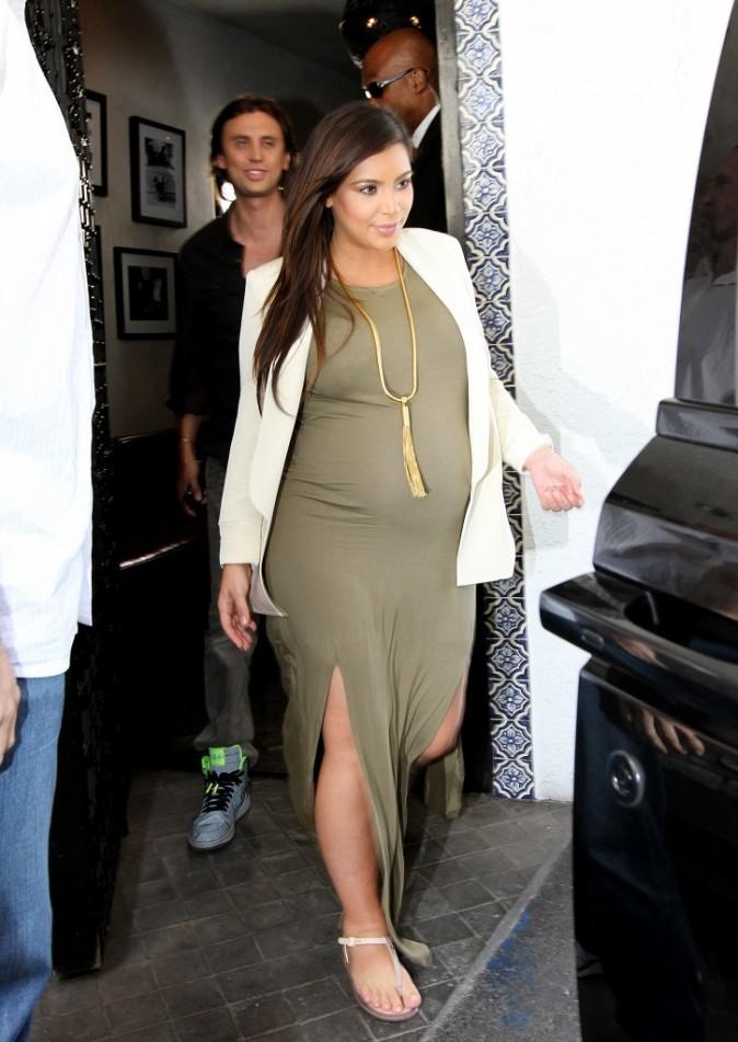 Kim Kardashian et Jonathan Cheban à Los Angeles, le 12 juin 2013.
