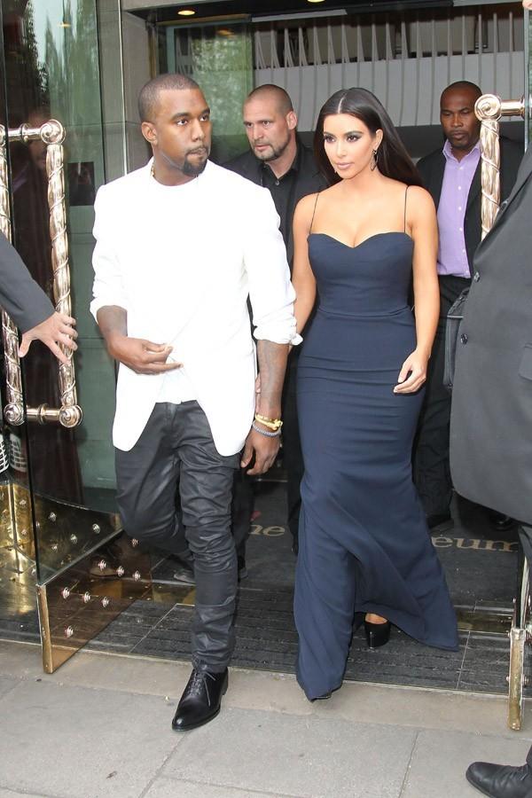 Kanye sera surement dans le show de Kim !