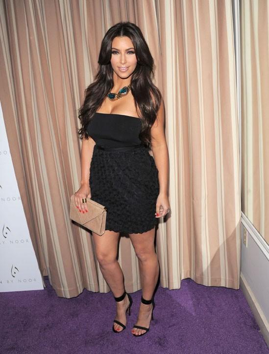 Kim Kardashian ultra sexy pour cette soirée mode !