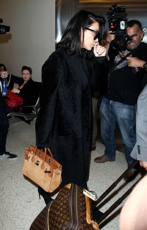 Kim Kardashian à LAX le 24 février 2015
