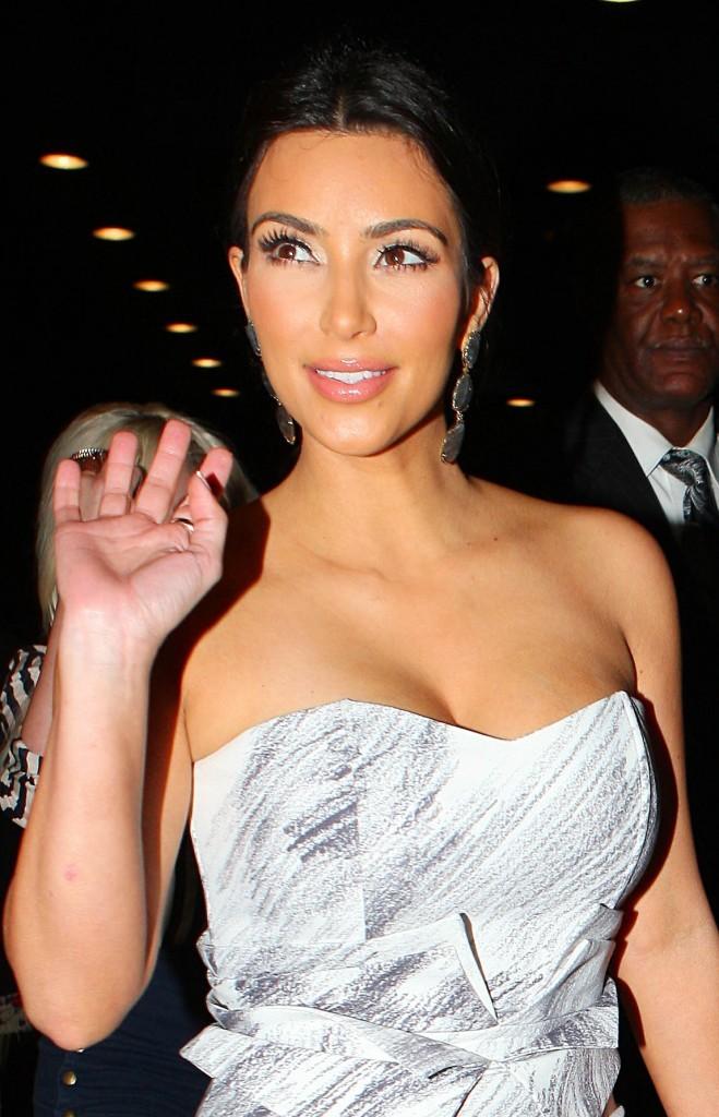Kim Kardashian à New York, le 23 juin 2011.