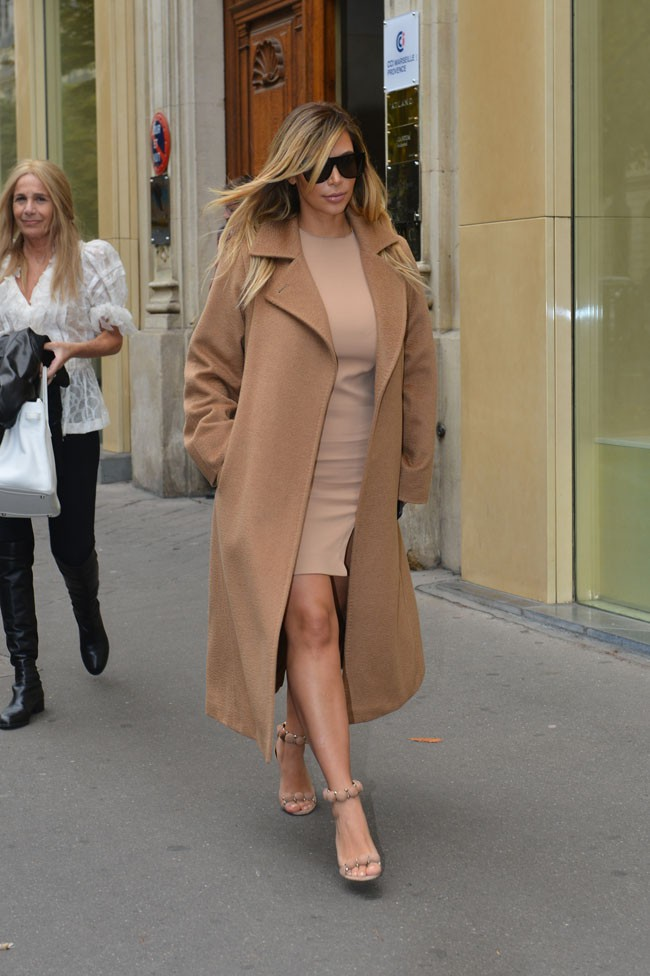 Kim Kardashian à Paris le 30 septembre 2013