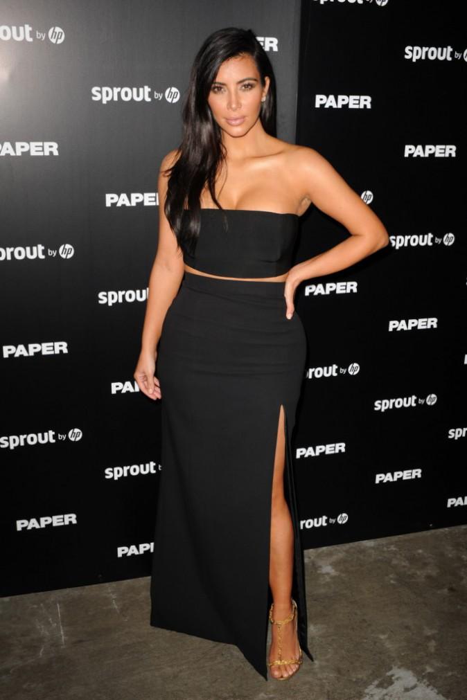 Kim Kardashian à Miami le 4 décembre 2014