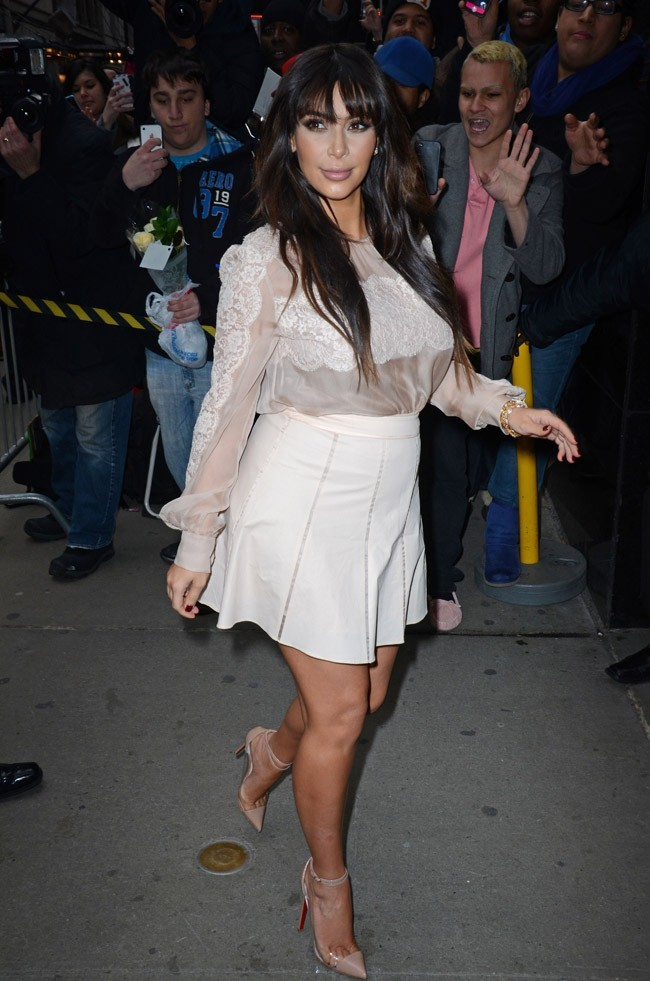 Kim Kardashian à New-York le 26 mars 2013