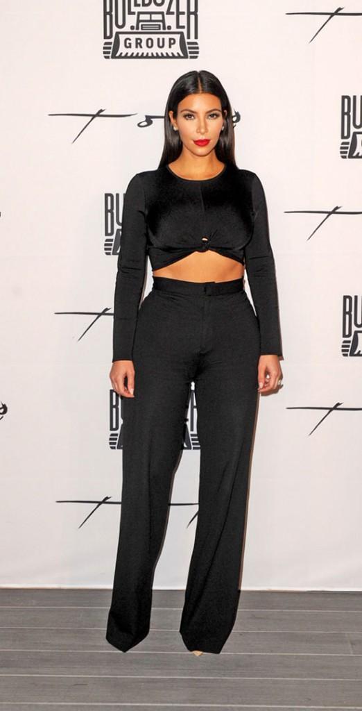 Kim Kardashian à Dubaï le 24 novembre 2014