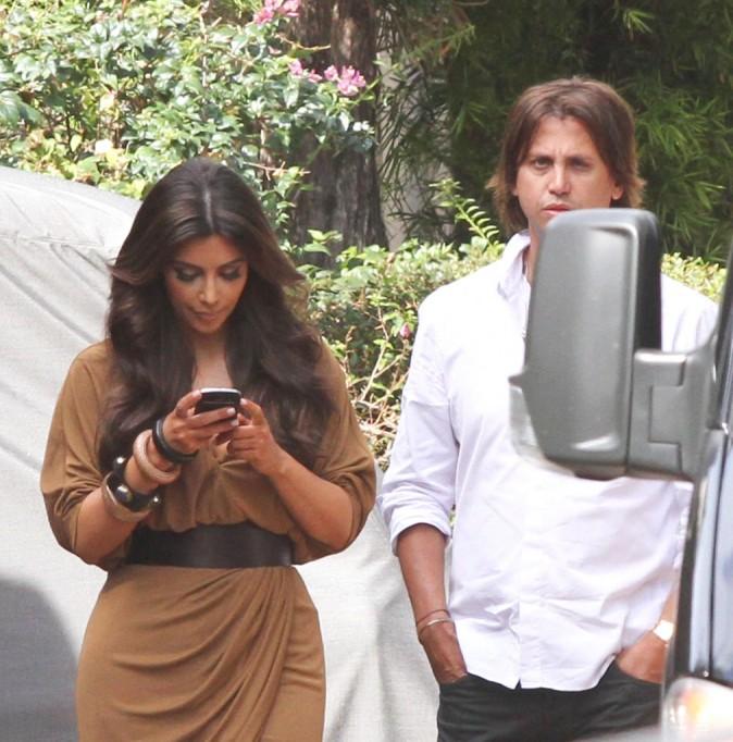Kim Kardashian et son meilleur ami à Miami, le 2 février 2012.