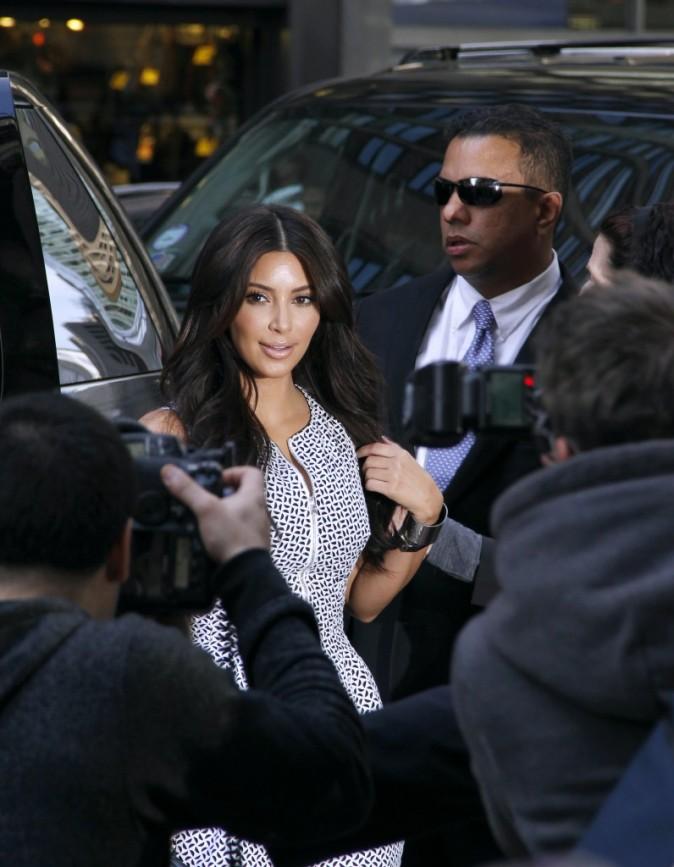 Kim Kardashian le 30 avril 2012 à New York