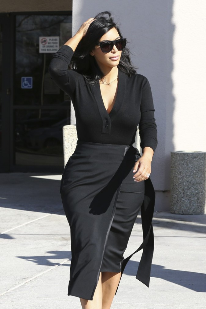 Photos : Kim Kardashian : elle vous présente sa nouvelle coupe de cheveux !