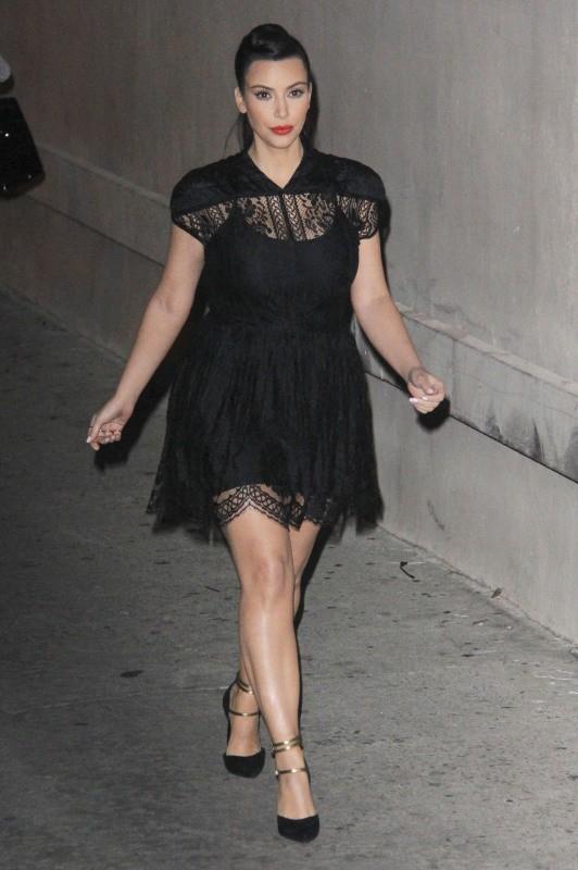 Kim Kardashian le 29 janvier 2013 à Hollywood