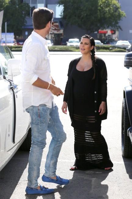 Kim Kardashian et Scott Disick le 14 mai 2013 à Los Angeles