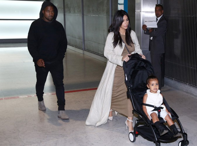 Kim Kardashian et Kanye West : après l'Arménie et Jérusalem, ils débarquent à Paris avec North !