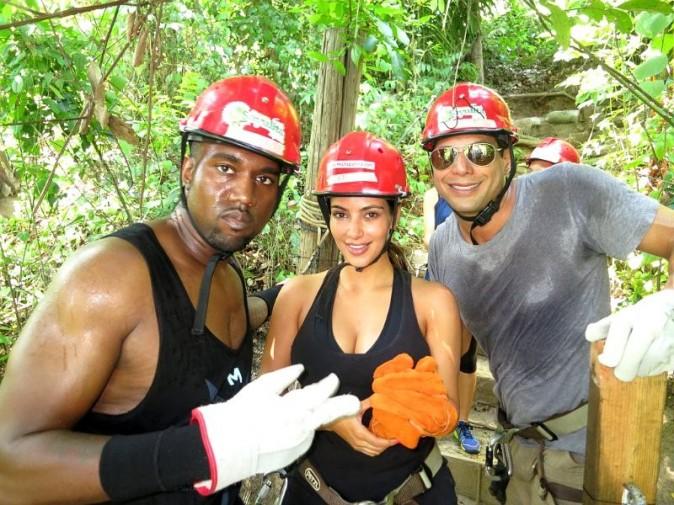 Kanye West et Kim Kardashian au Mexique lors de récentes vacances avec Joe Francis