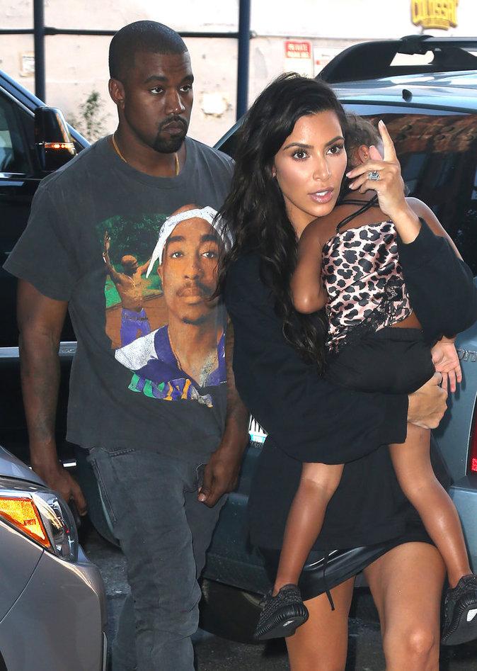 Photos : Kim Kardashian et Kanye West : des parents débordés ?