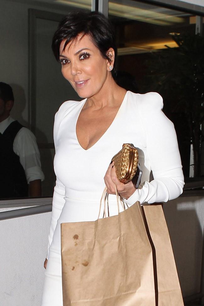 Kris Jenner à Beverly Hills le 18 septembre 2014