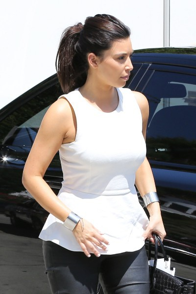 Kim Kardashian à Hollywood, le 11 juillet 2012.