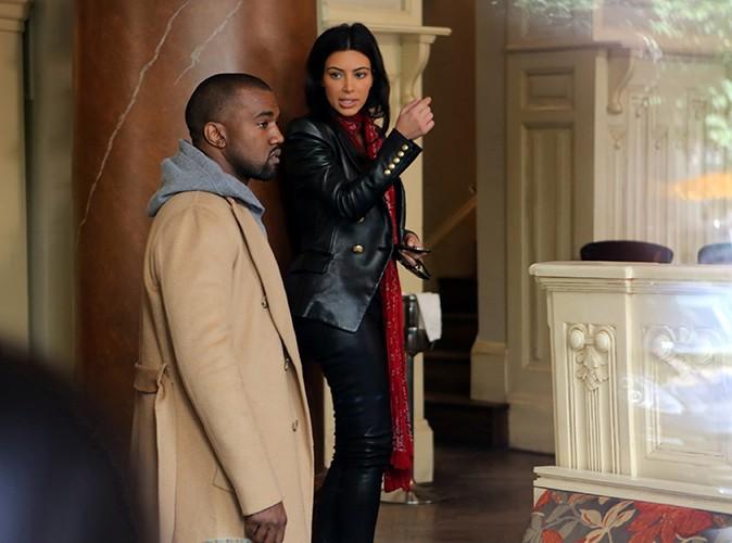 Kim Kardashian et Kanye West à Prague le 30 mai 2014