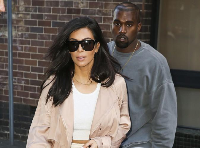 Kim Kardashian et Kanye West à Sydney le 13 septembre 2014