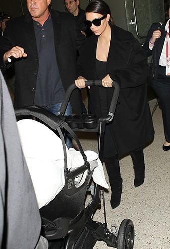 Kim Kardashian à Los Angeles le 28 février 2014