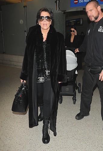 Kris Jenner à Los Angeles le 28 février 2014