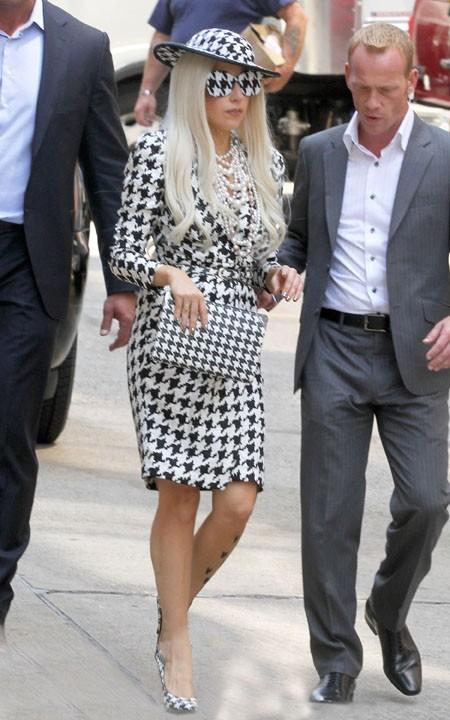 Lady Gaga a misé sur les accessoires !