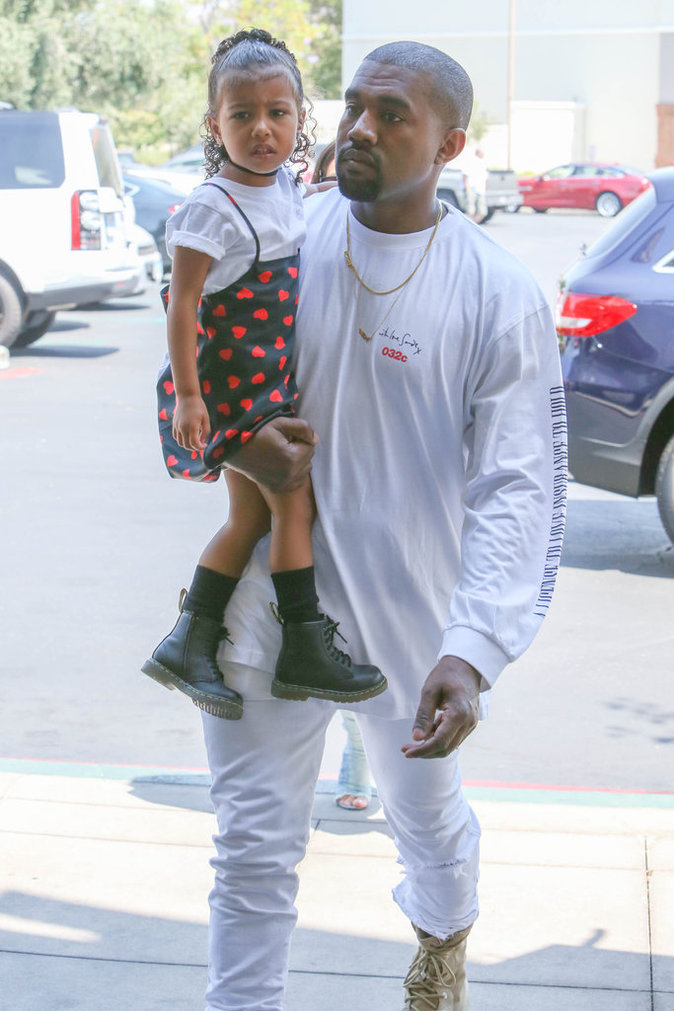 Kanye West adore sa famille