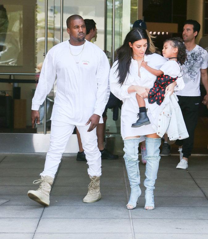 La famille West Kardashian est stylée