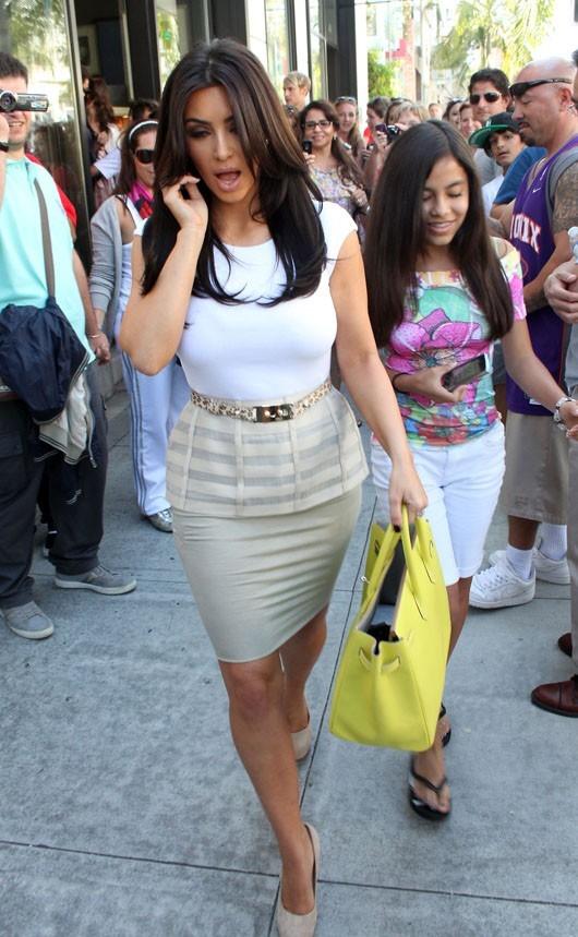 Kim n'a que faire des fans qui la suivent !