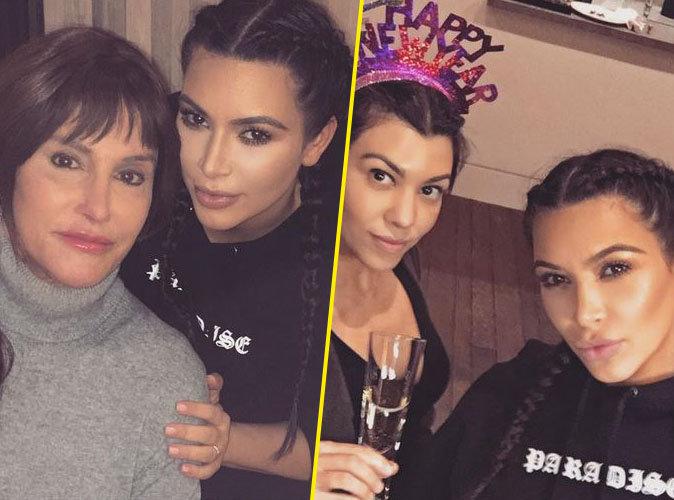 Caitlyn Jenner, Kim et Kourtney Kardashian