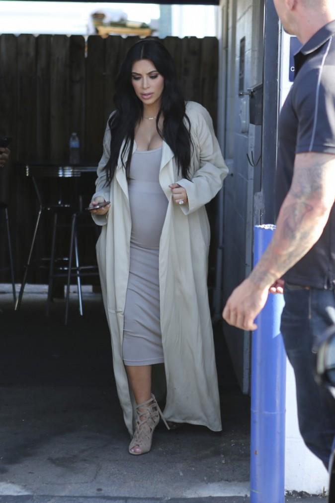 Kim Kardashian le 28 juillet 2015