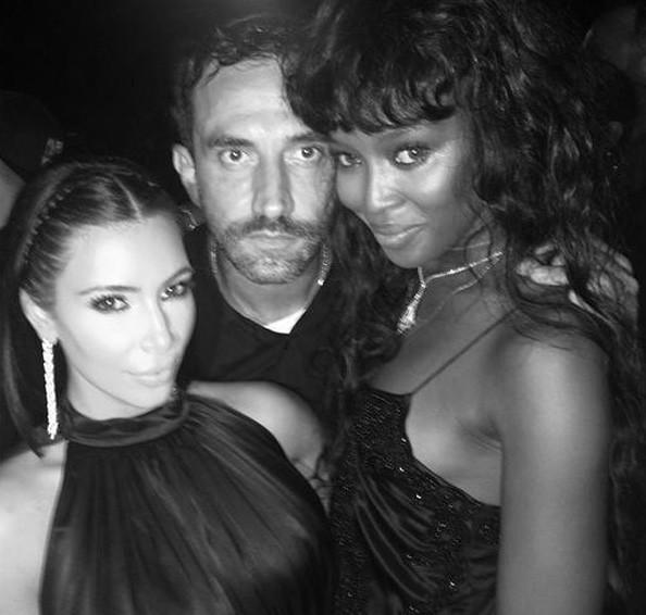 Avec Riccardo Tesci et Kim Kardashian