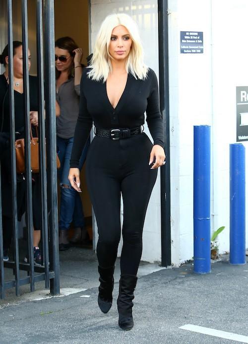 Kim Kardashian à Los Angeles, le 16 mars 2015
