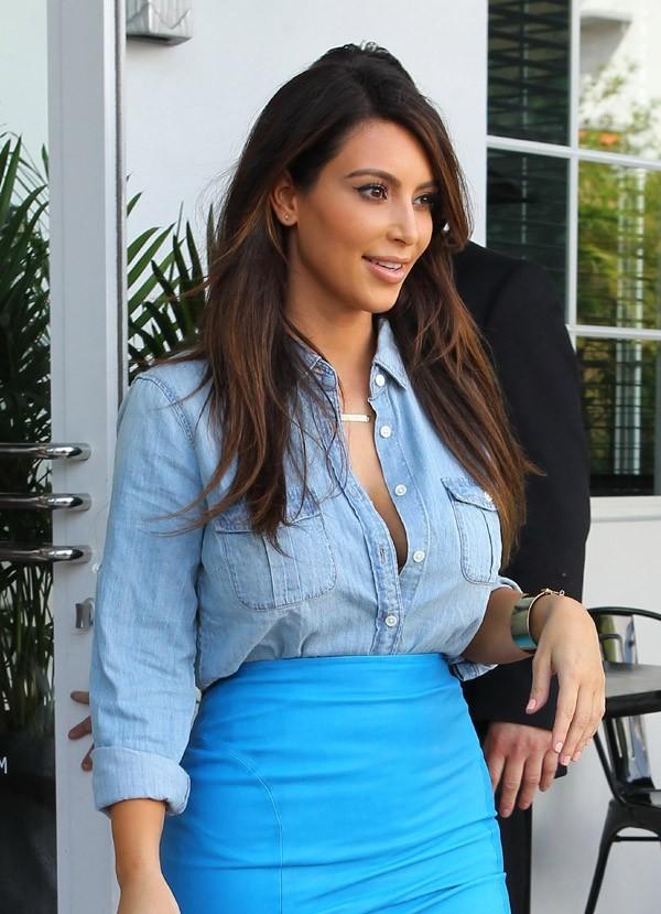 Kim Kardashian à Miami le 2 octobre 2012
