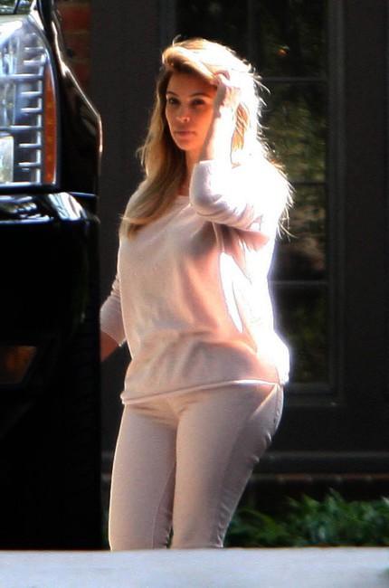Kim Kardashian à Beverly Hills, le 10 octobre 2013.