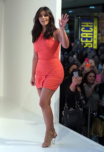 Kim Kardashian à Sydney le 13 septembre 2014