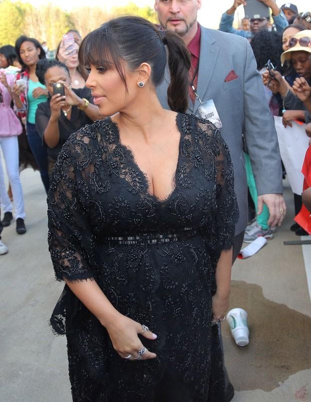 Kim Kardashian ultra canon à l'avant-première de Temptation !