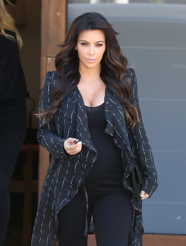 Kim Kardashian à West Hollywood, le 9 avril 2013.