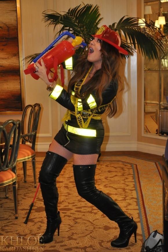Khloé Kardashian le 23 juillet dernier !