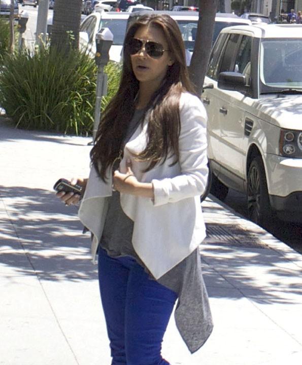 Kim pète en bleu !