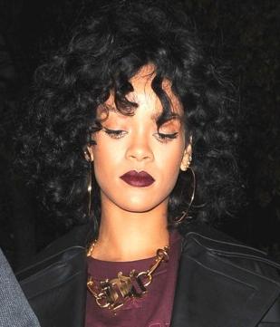 Rihanna en lie de vin