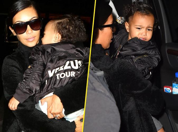 Kim Kardashian : North apeurée à l'aéroport, elle fait tout pour la protéger !
