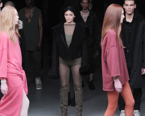 Kylie Jenner au défilé Kanye West x Adidas le 12 février 2015