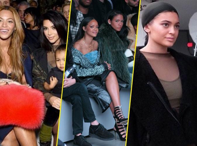 Photos : Kim Kardashian, North, Beyoncé, Rihanna, Kylie Jenner… : sur le front pour Kanye West x Adidas !