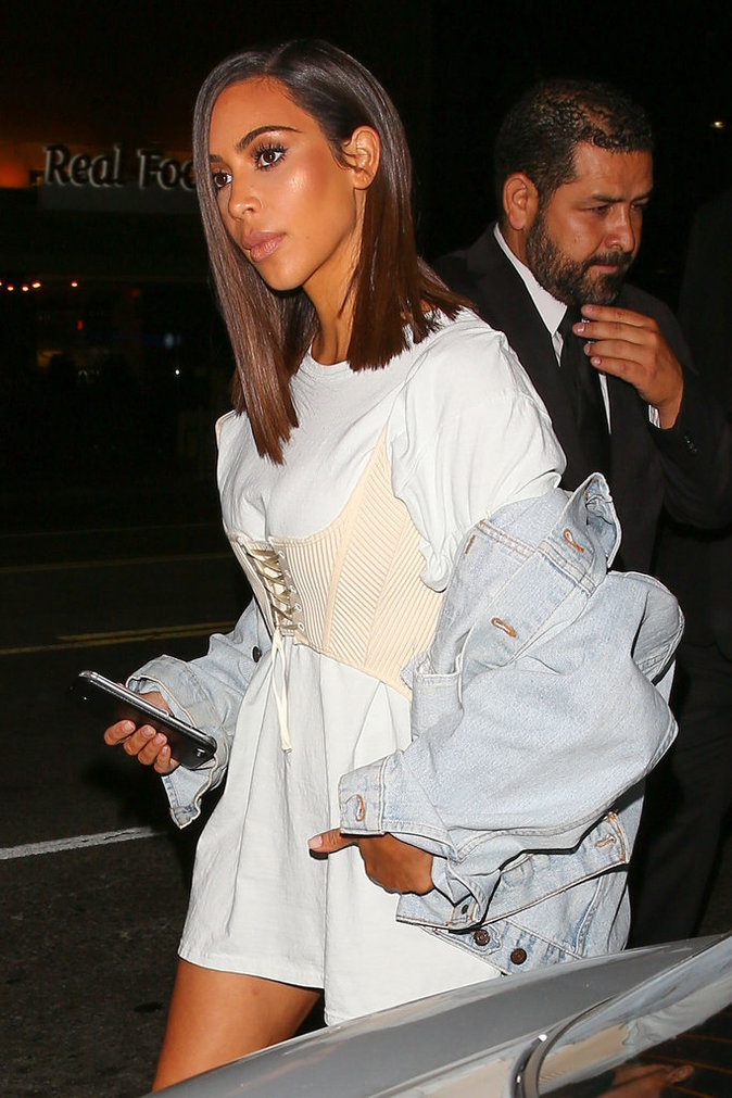 Photos Kim Kardashian Nouvelle Coiffure Et Nouvelle Silhouette