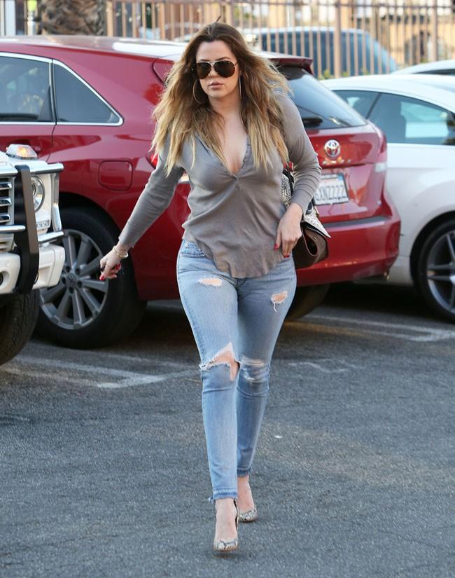 Khloé Kardashian à Los Angeles le 15 mars 2014