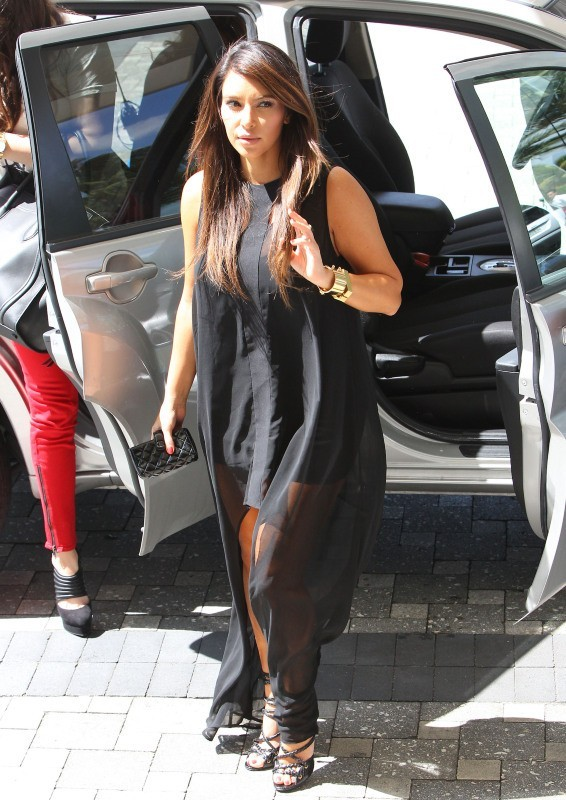 Kim Kardashian le 11 octobre 2012 à Miami