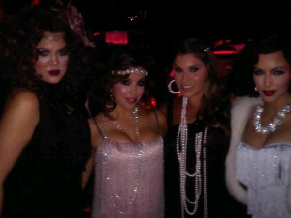 Eva entourée de ses copines pour son birthday !