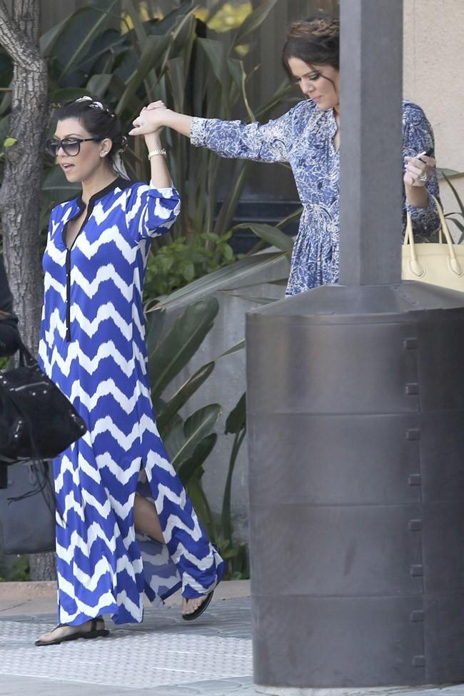 Retrouvailles des soeurs Kardashian à Resada, en Californie, le 29 mars 2013