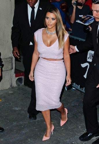 Kim Kardashian à Hollywood, le 23 janvier 2014.